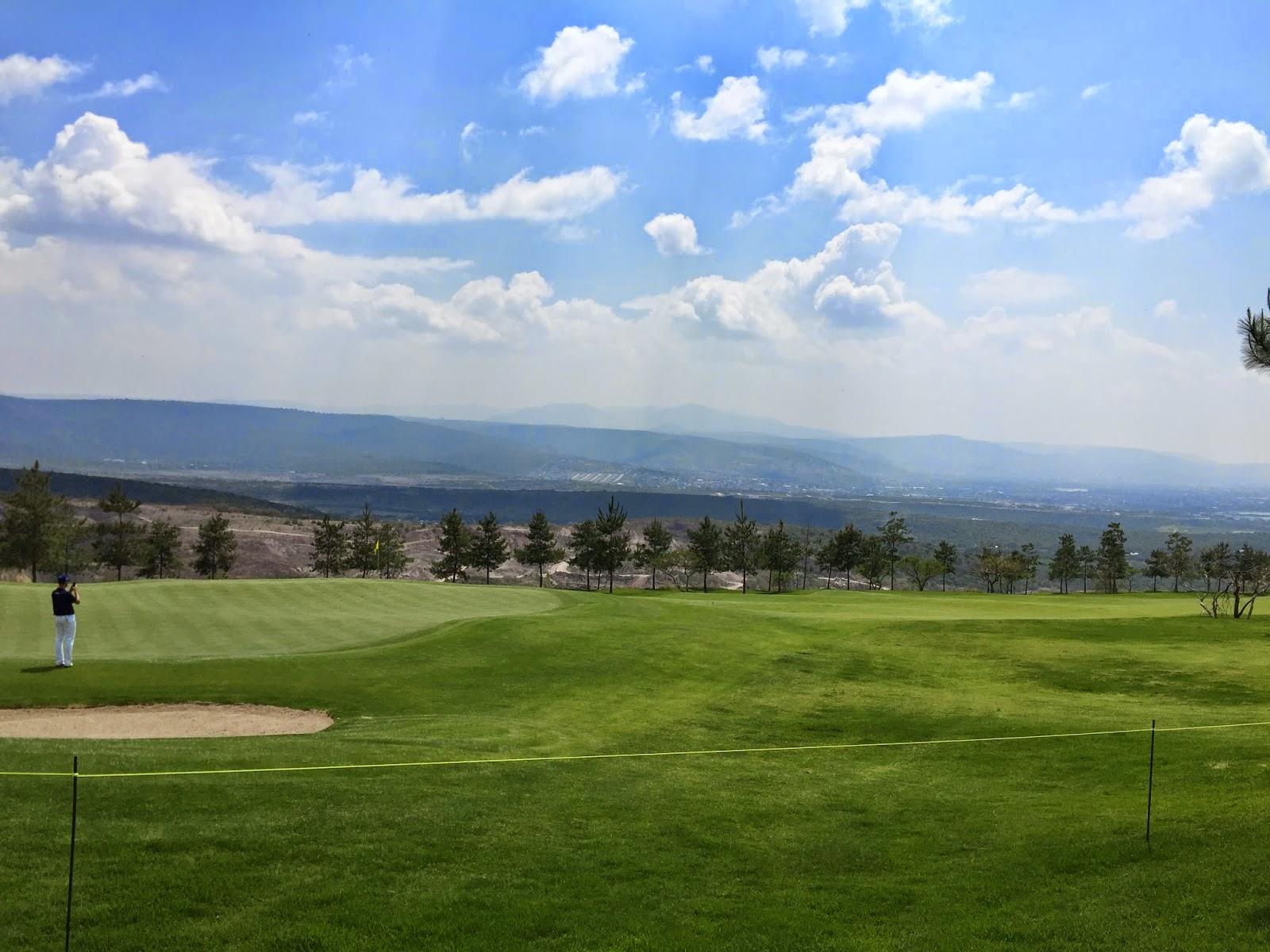 A look off the 11th green at El Bosque GC