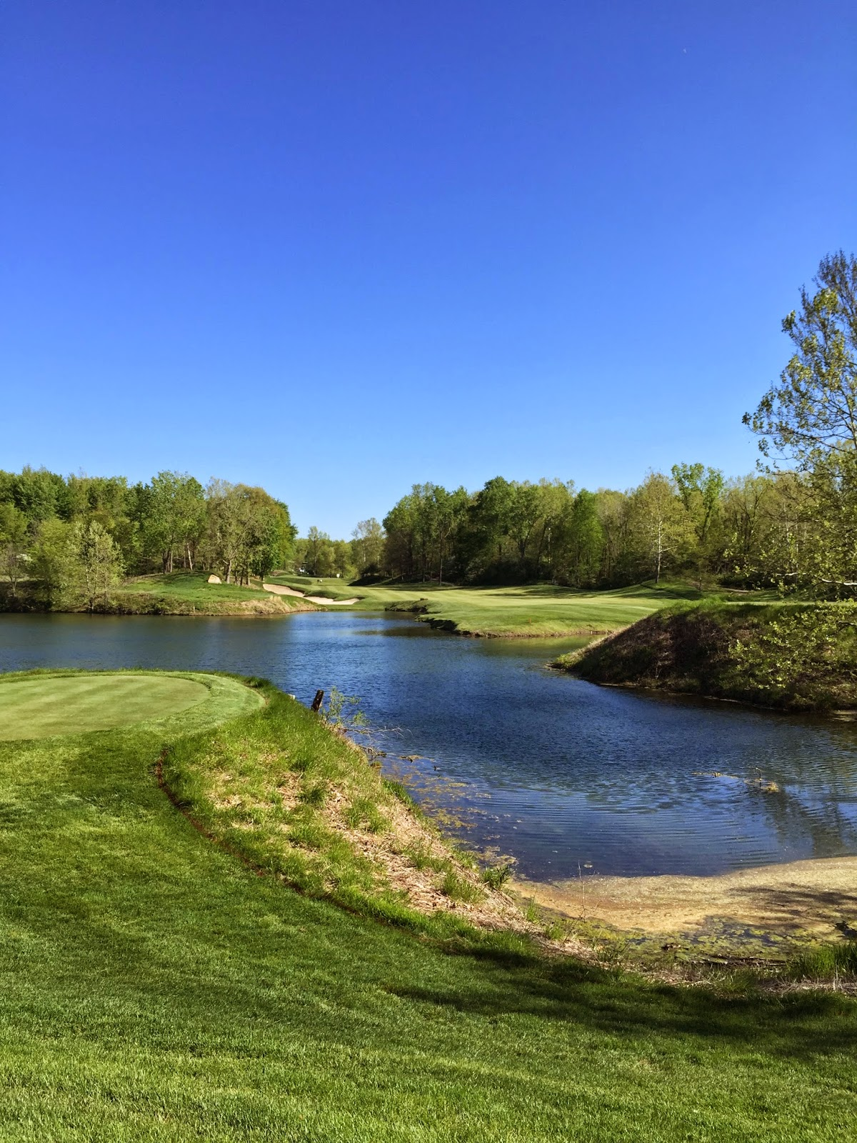 The 14th hole at Victoria National.