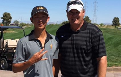 Jino Sohn (Class of 2015) finished top ten as Sun Devil at the Thunderbird Invitational at Karsten GC