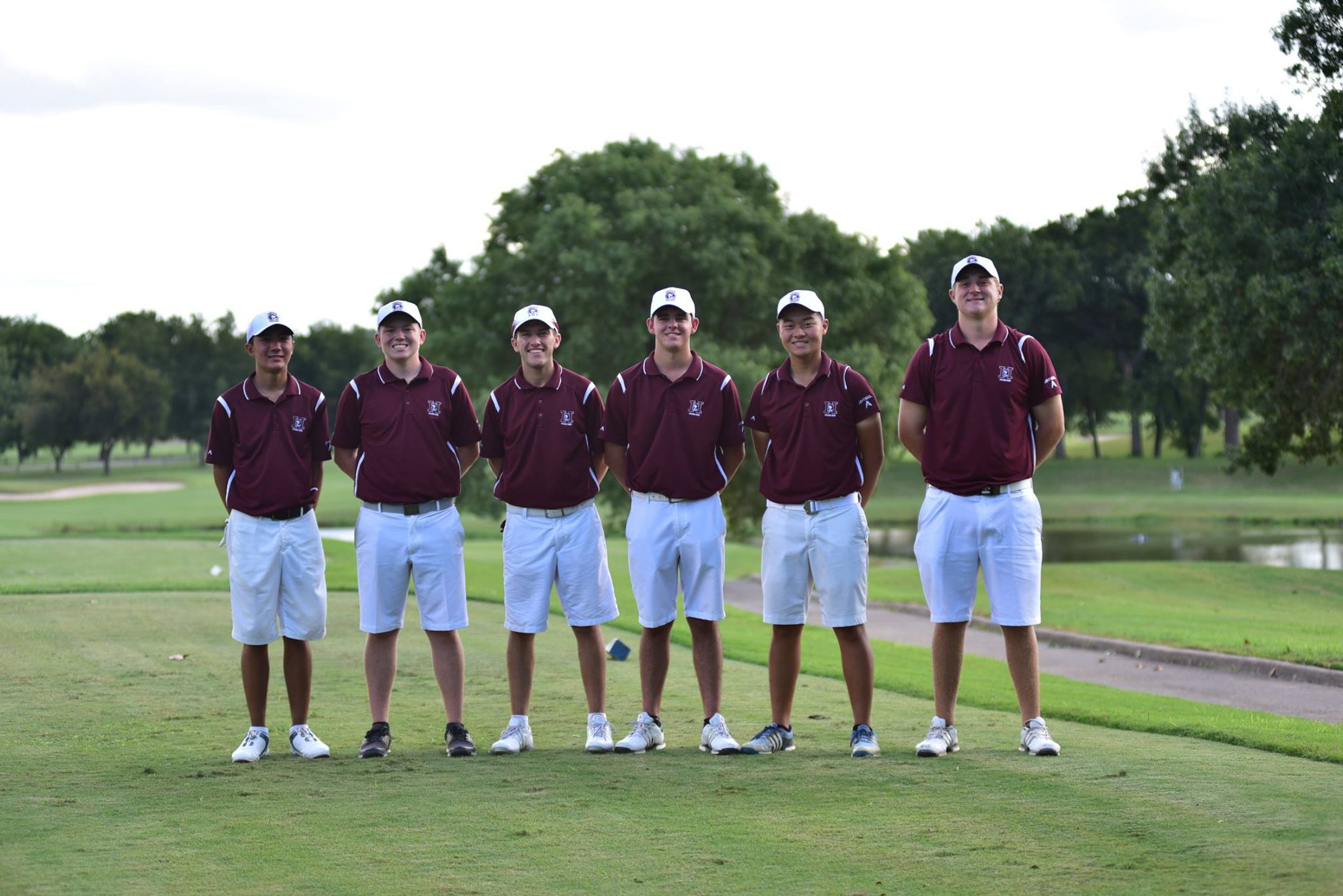 The HHS Boys Golf Team finishes in 27th place out of 52 teams in the rain shortened Bart Granger Memorial held at Pecan Valley Golf Club in Ft Worth Texas yesterday.  The team was looking to moving up the leaderboard on Saturday but heavy rain forced the cancellation of round three.  After two rounds sophomore Johnny Walker (78-70) and senior Alexander Yu (75-74) led the way for the Huskies. A trio of senior Brandon Hill (77-79), Caden Rice (82-79) and Kanoah Cunningham (85-83) rounded out the lineup.