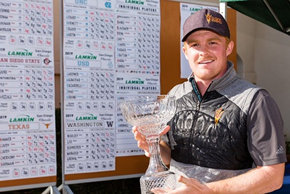 Mason Andersen - Won a playoff to win the 2019 Lamkin Grips Classic, while ASU took its second team title on the year