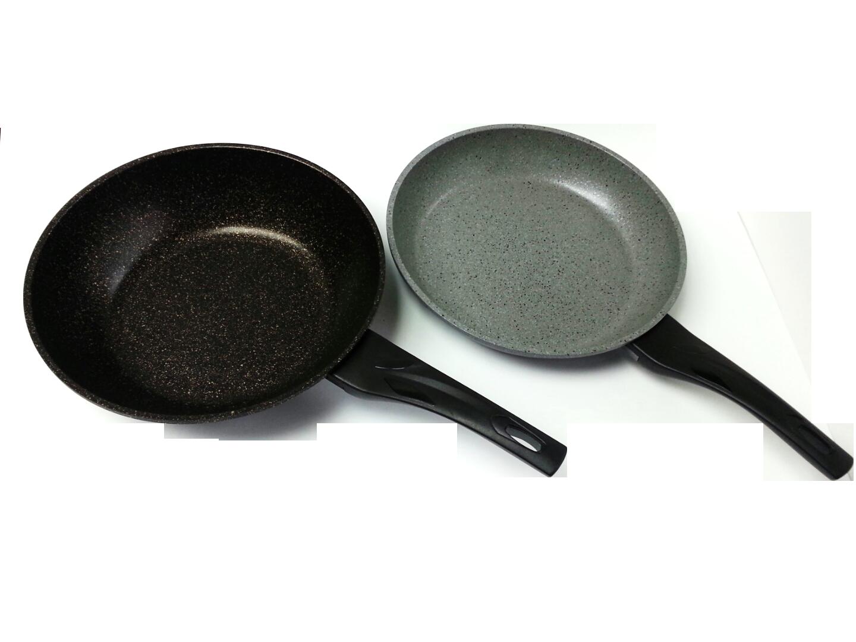 Granite wok and frying pan front.png