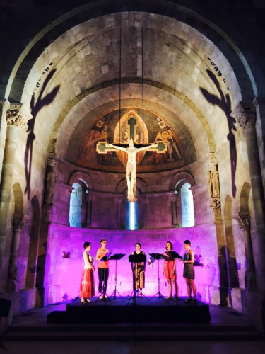 John Zorn's The Holy Visions at The Cloisters - May 30, 2015