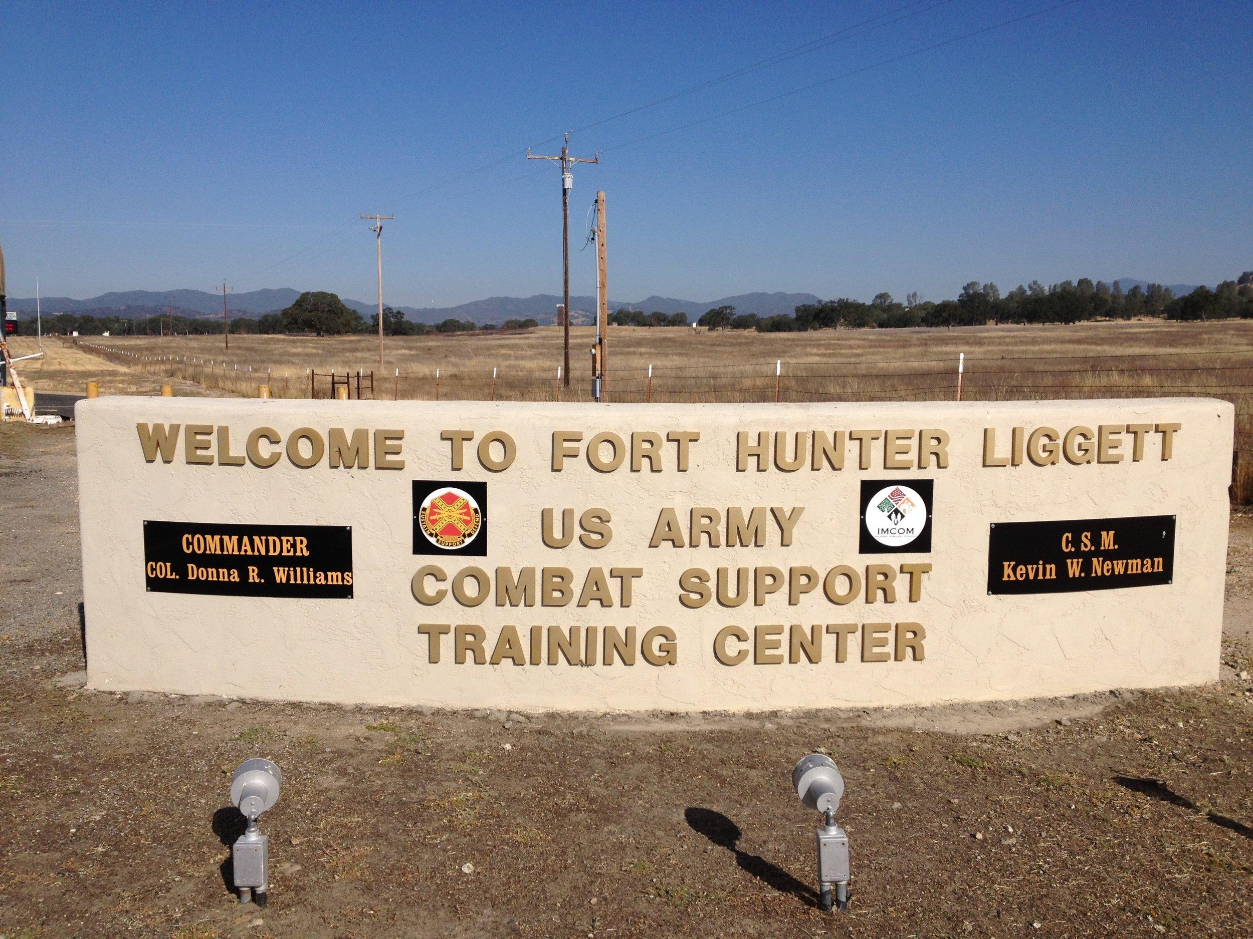 Fort Hunter Liggett UPH Barracks -