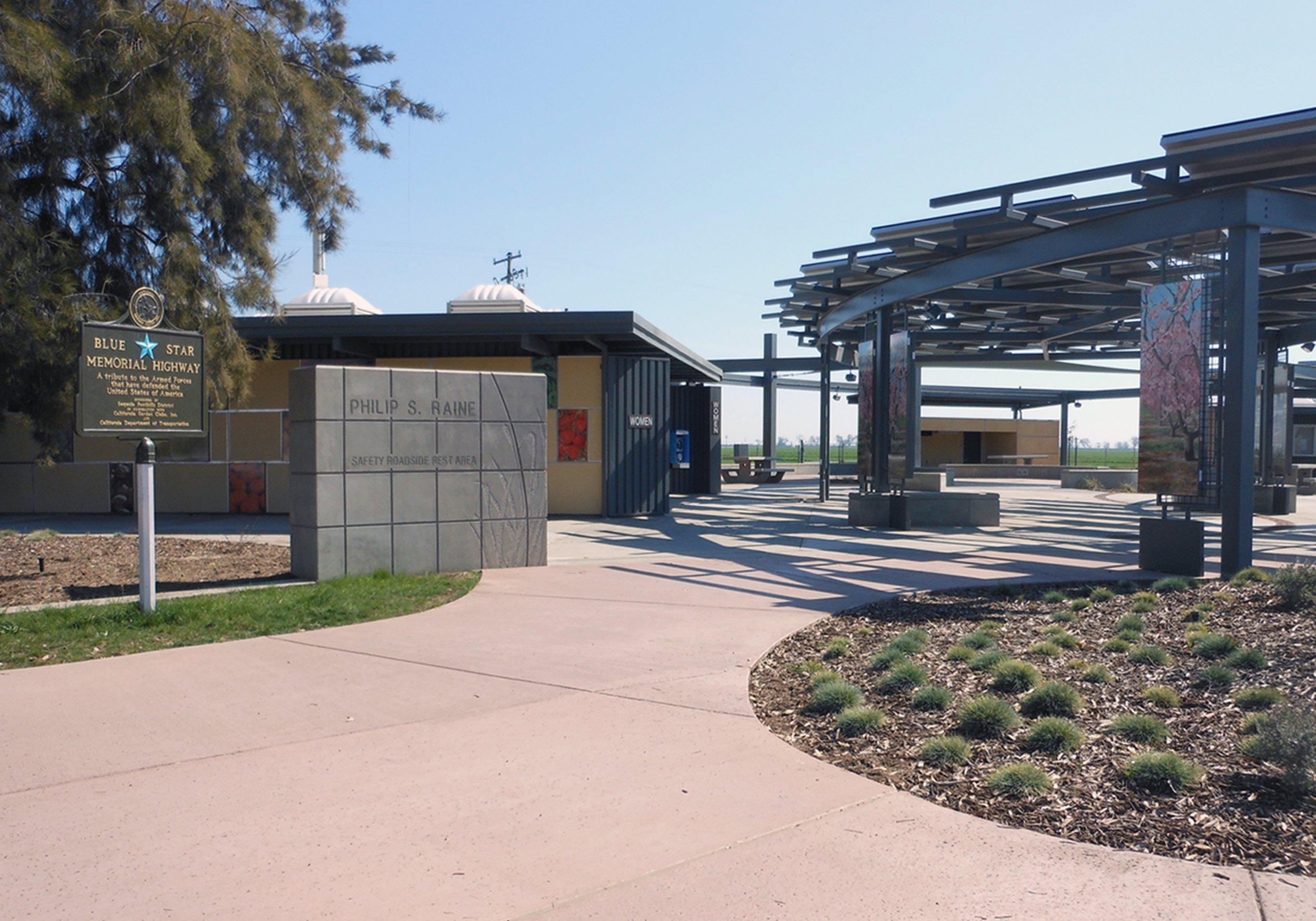 Philip S. Raine Roadside Rest Area -