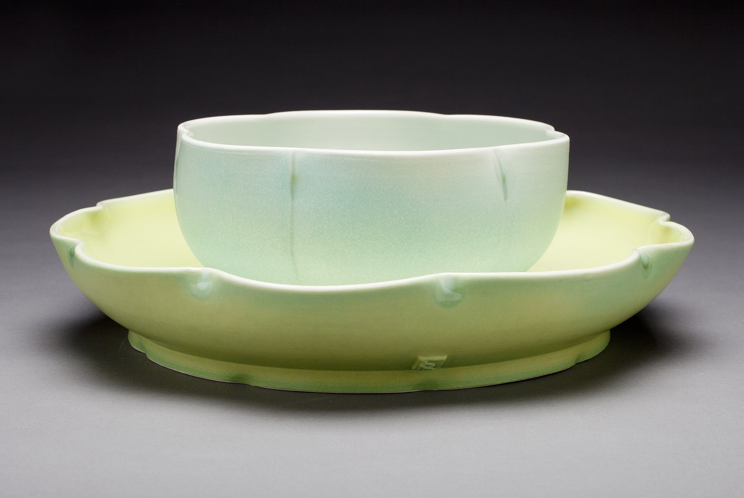 Serving Bowl and Platter