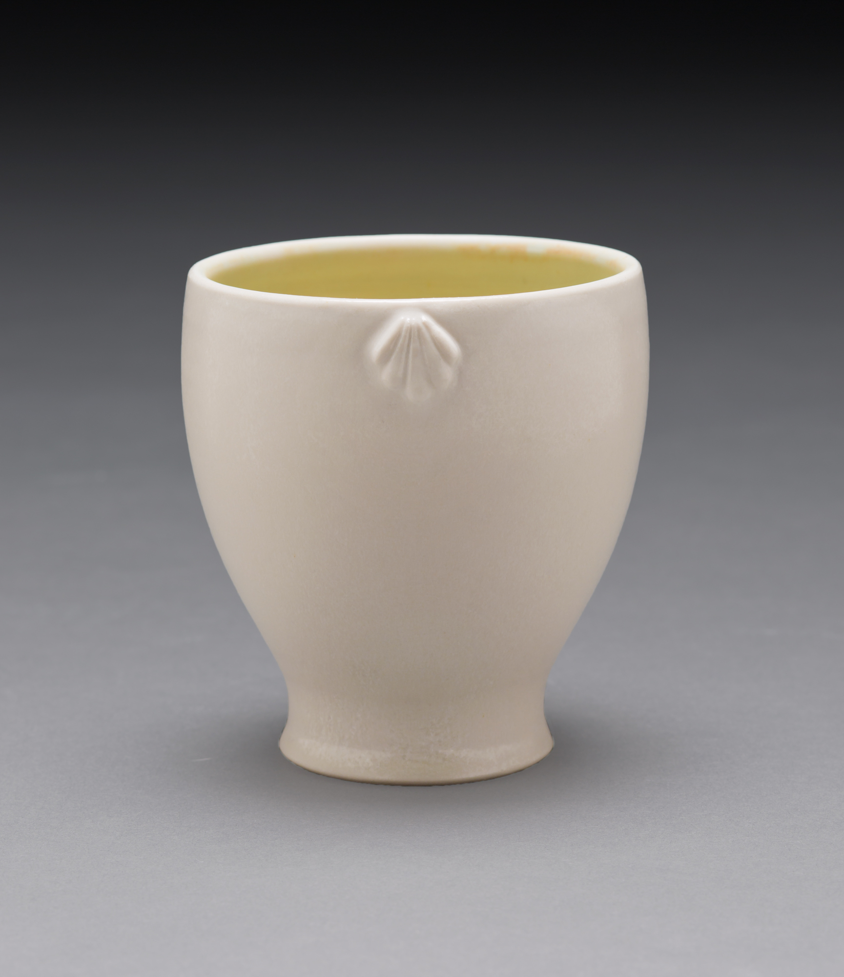 Cup with Shell Sprig