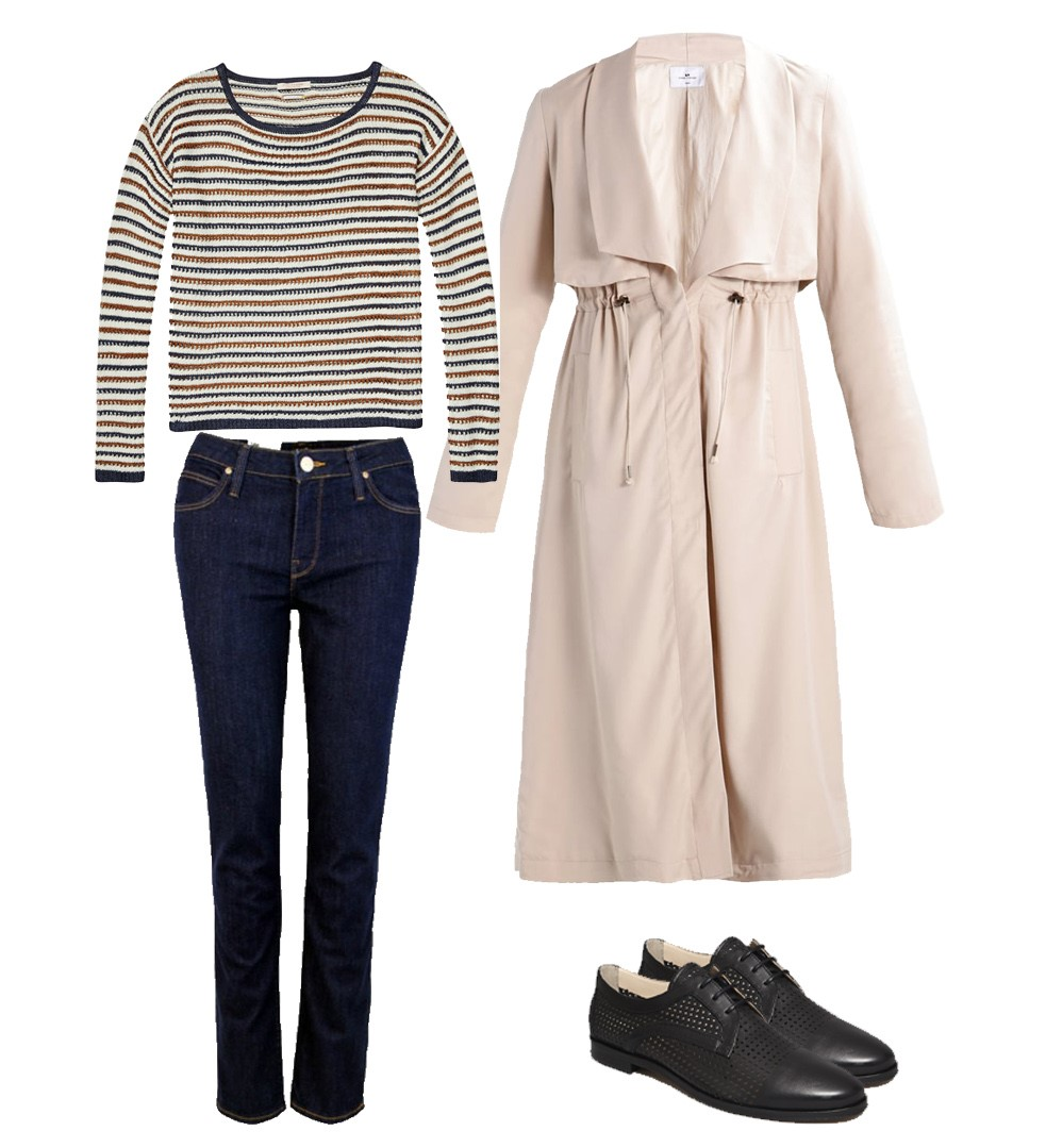 Jean Lee, Pull Maison Scotch, Trench Loreak Mendian, Derbies Anaki