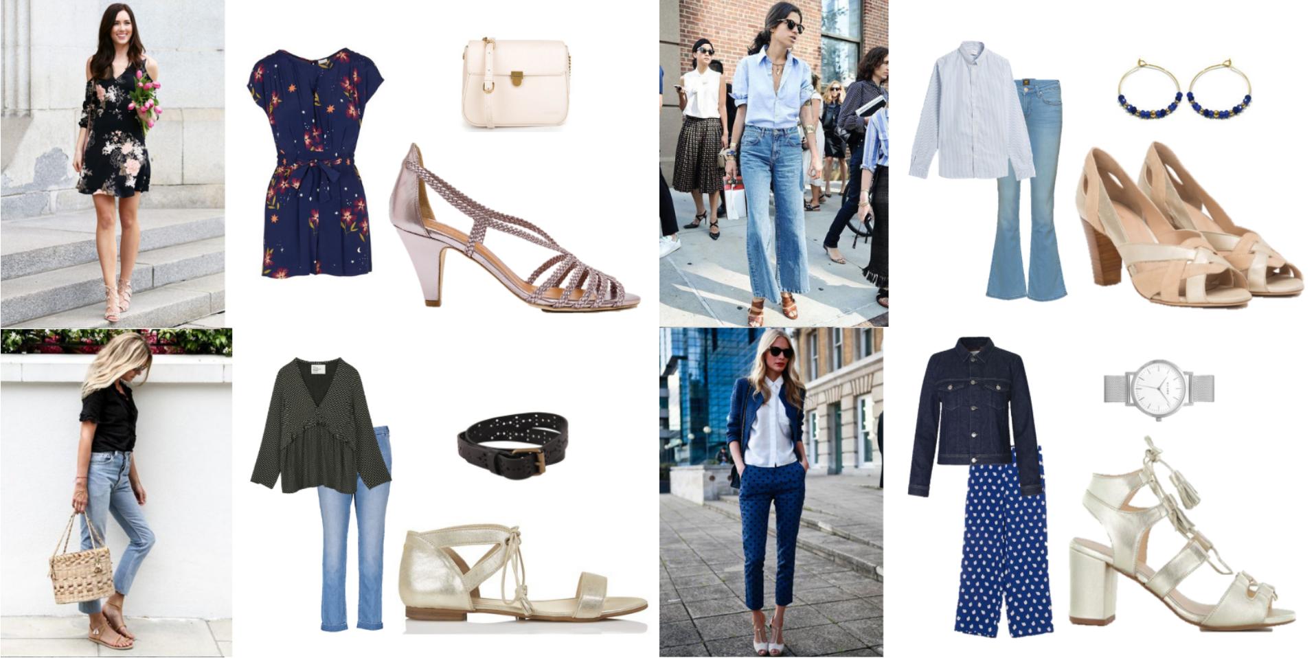 tendance, printemps, chaussures, sandales, métallisées, shopping, malle, box, styliste