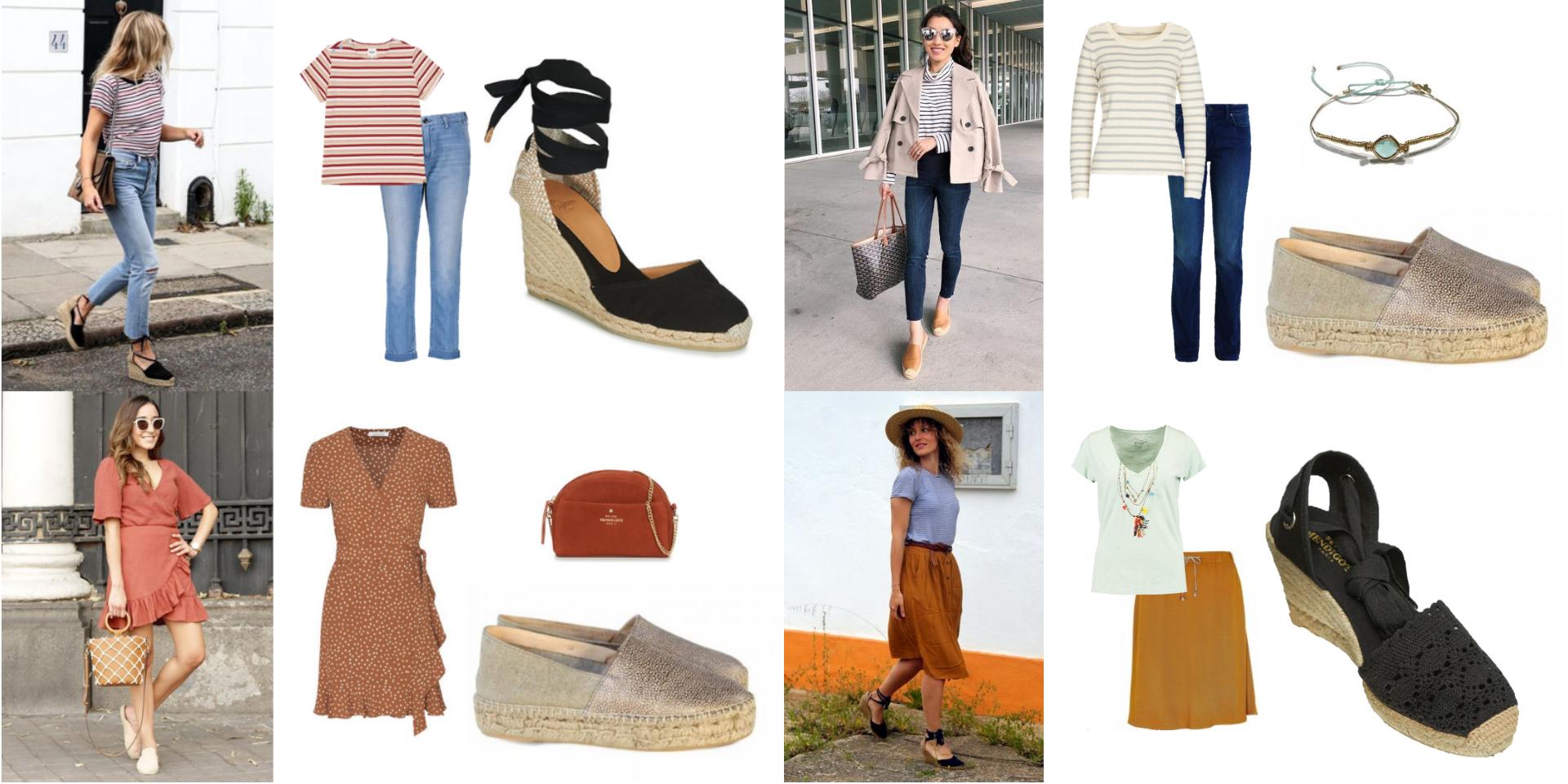 tendance, shopping, espadrilles, essayage, box, malle, conseils, styliste, printemps, chaussures