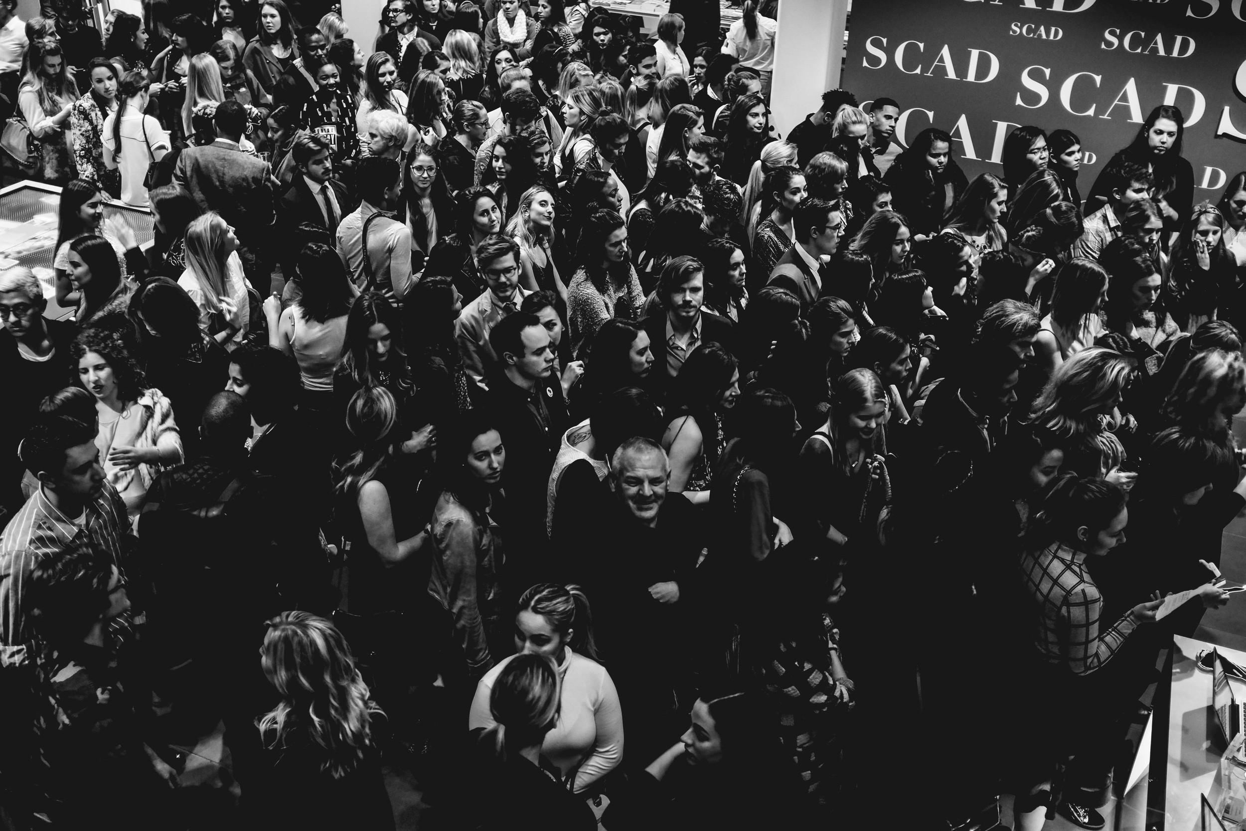 Photo courtesyof Bobby Moore taken at the Oscar de la Renta Exhibition Opening