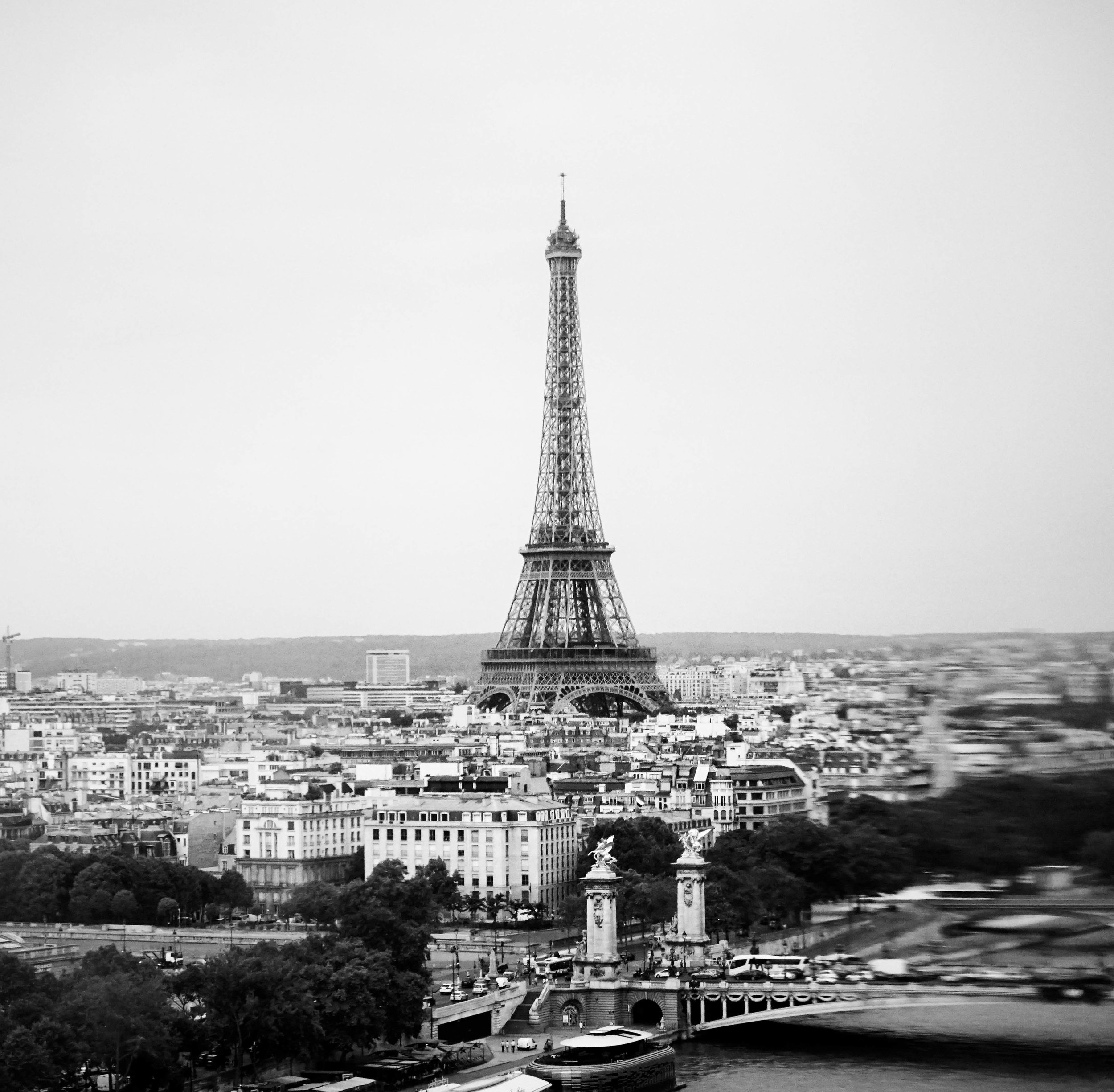 Paris, Eiffel Tower.