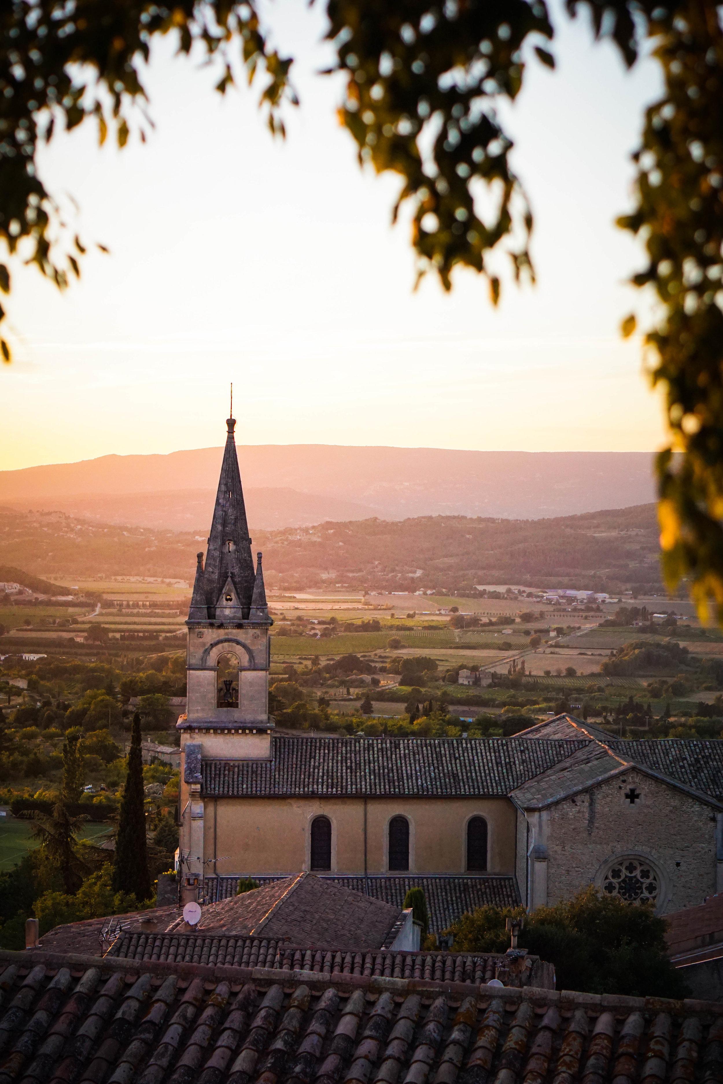 Bonnieux, France.