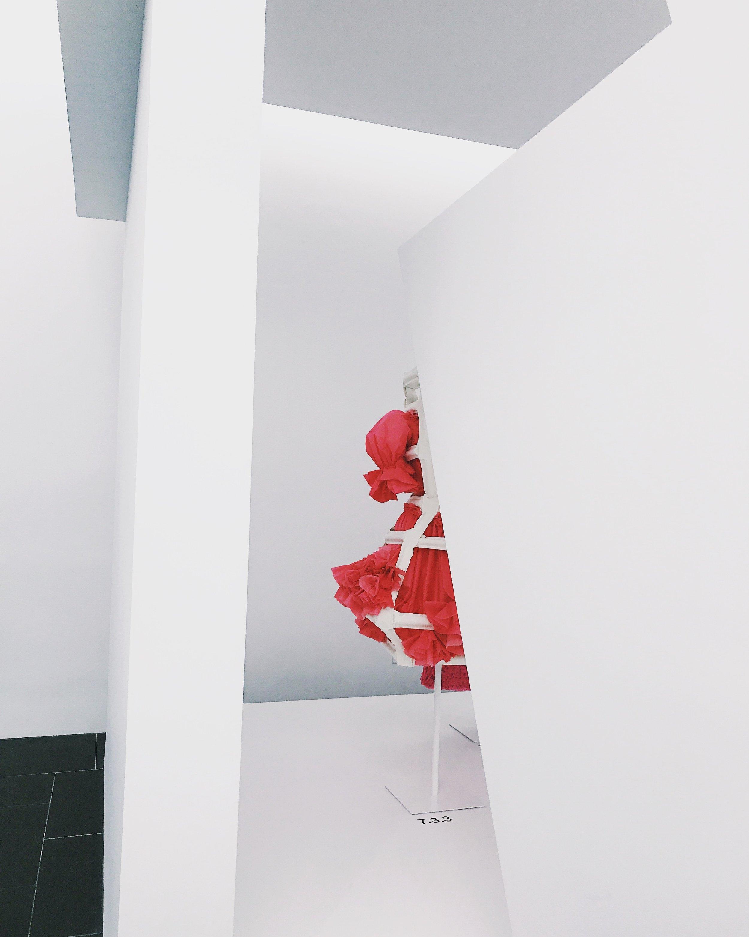 Comme des Garçons at the Met.
