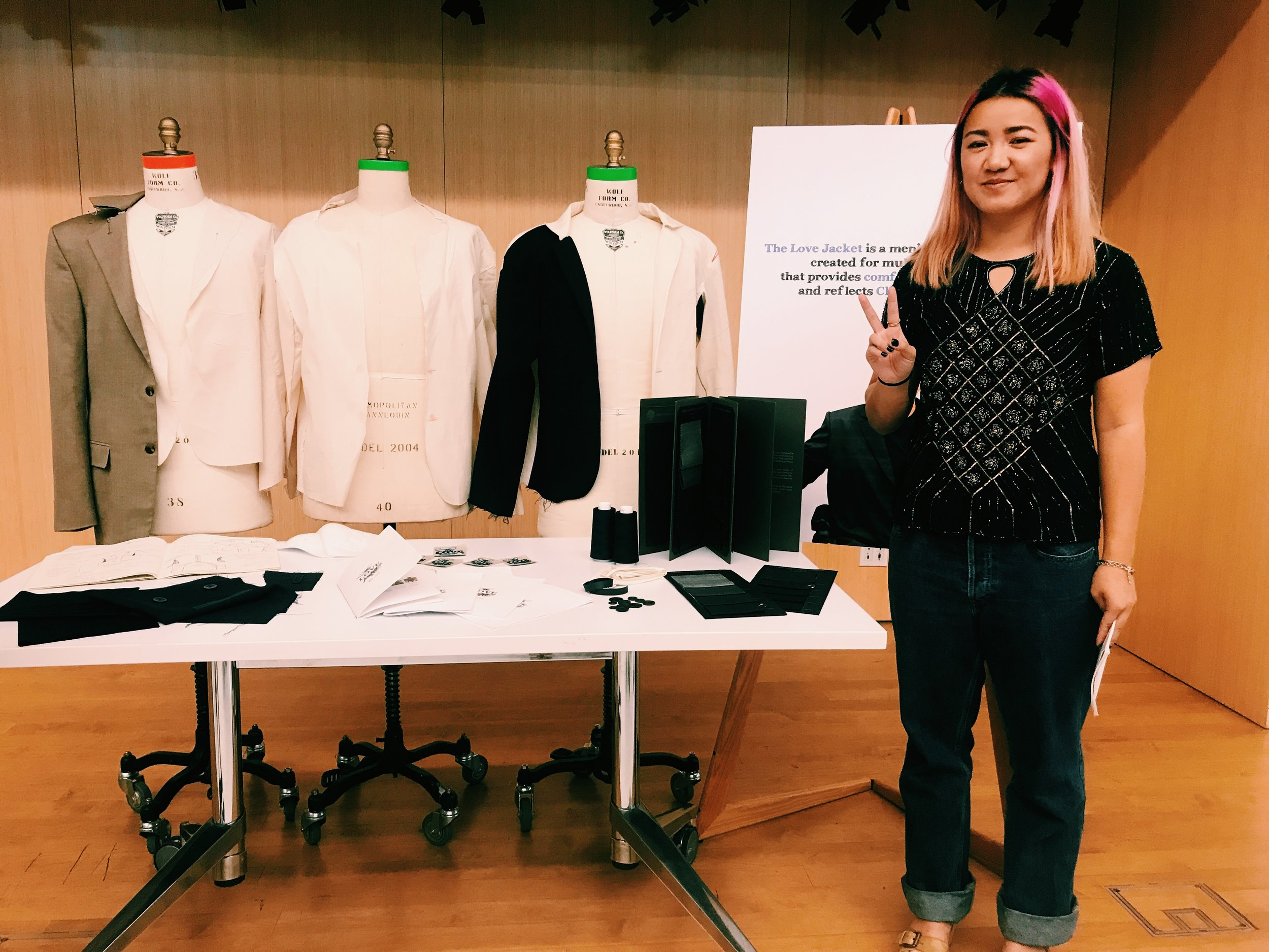Abi at Open Style Lab, Parsons New York