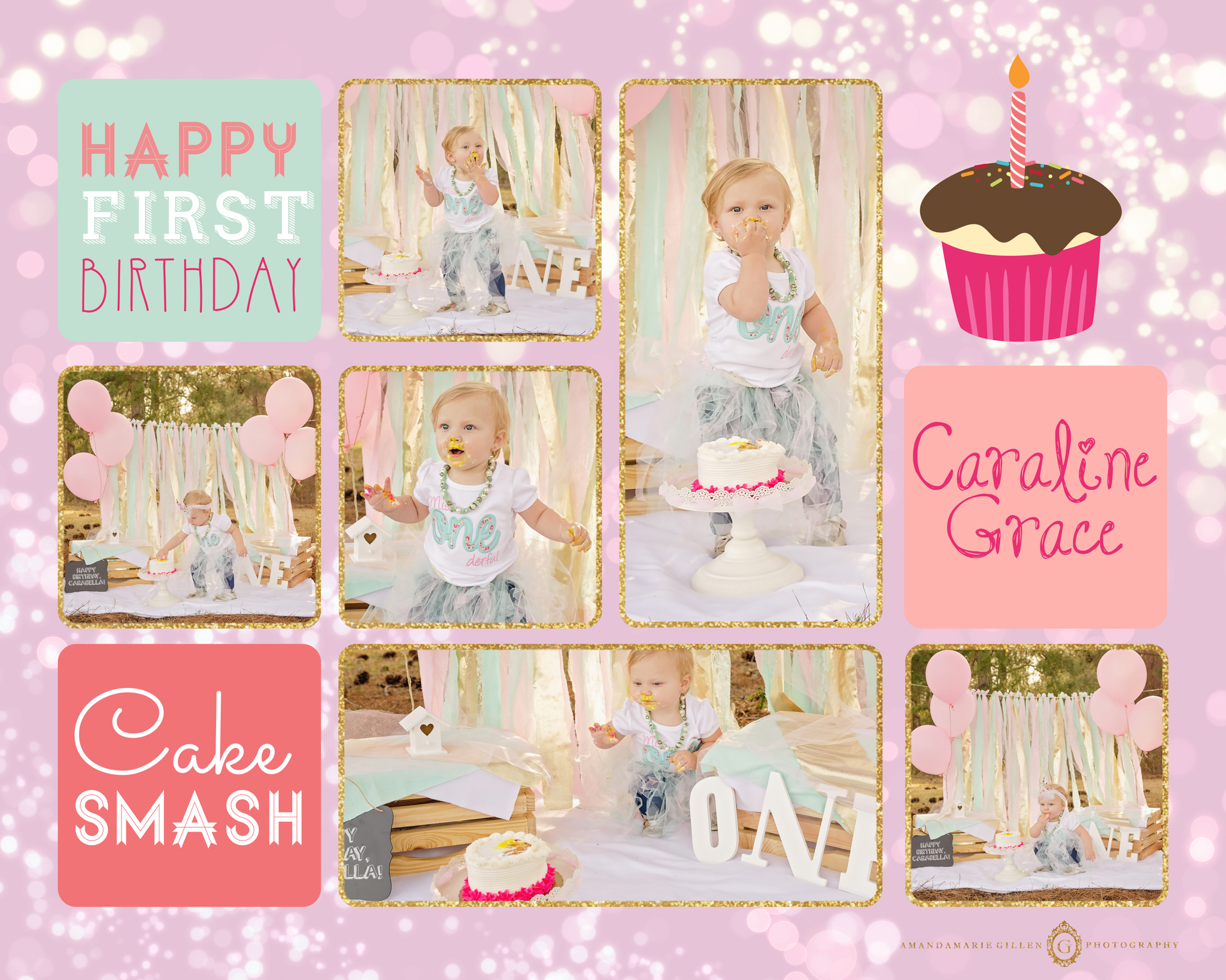 first birthday cake smash wilmington nc