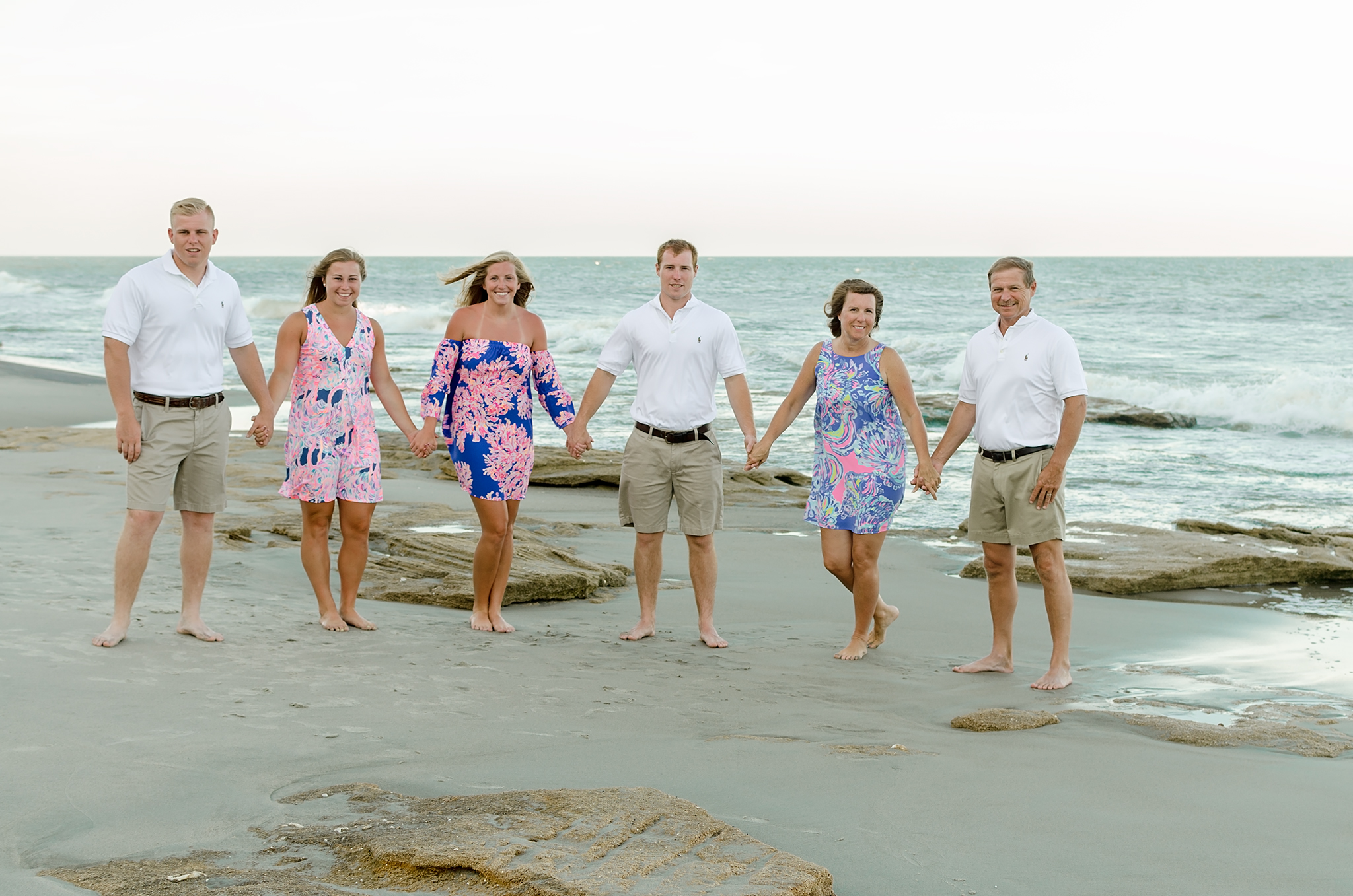 Kure Beach, NC family session