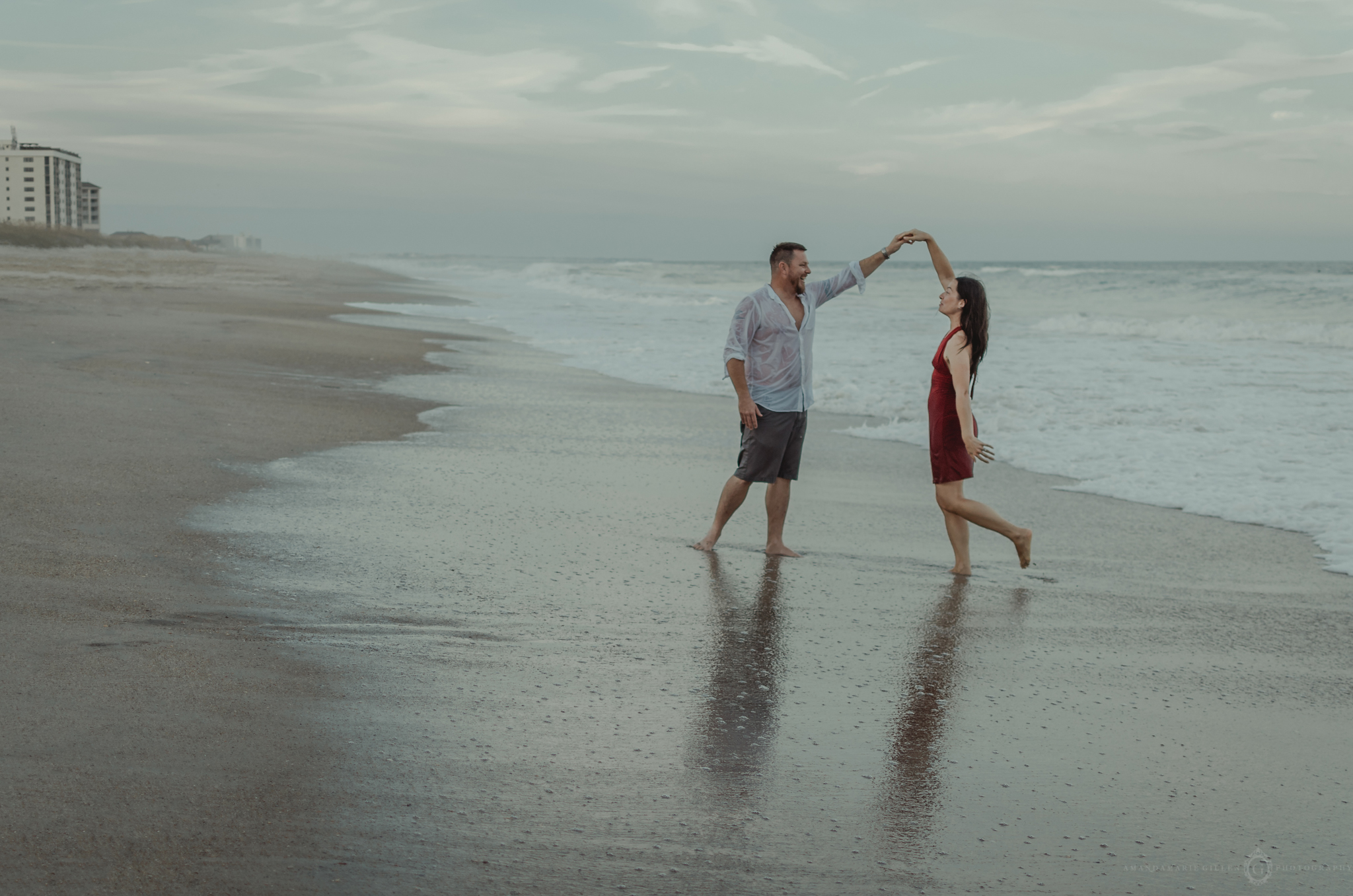 engagement beach sessions nc