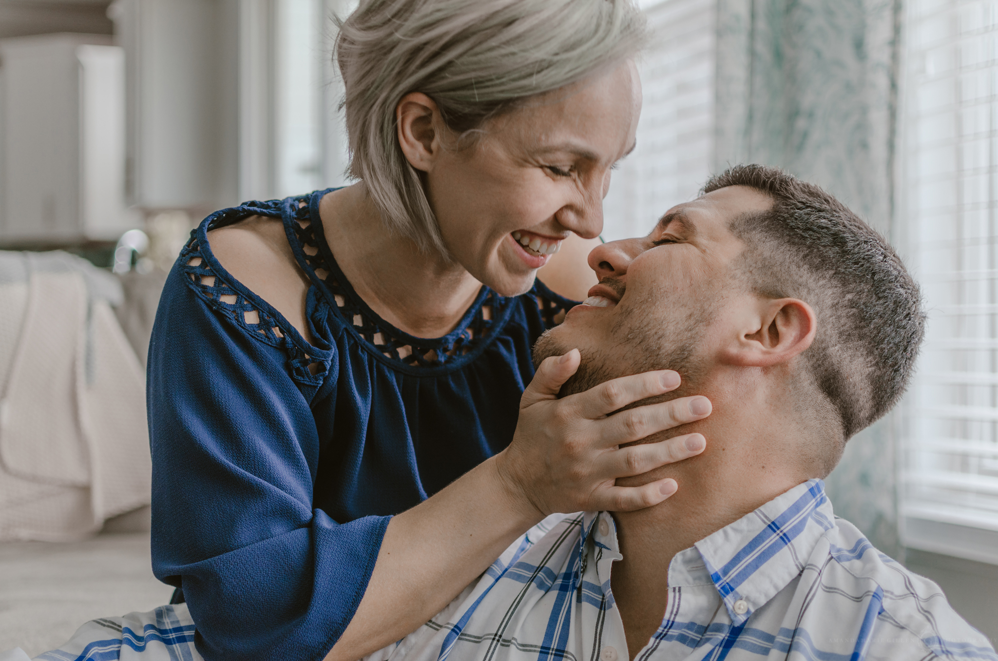 intimate couples photo session in beautiful house wilmington nc