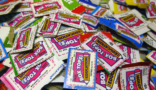 Box Tops and Milk Lids - Just bring in Box Tops for Education and Morning Fresh Milk lids to the office for us to cash in.