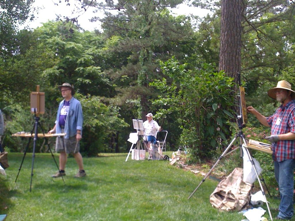 Eureka Springs School of the Arts Plein Air Paint Out