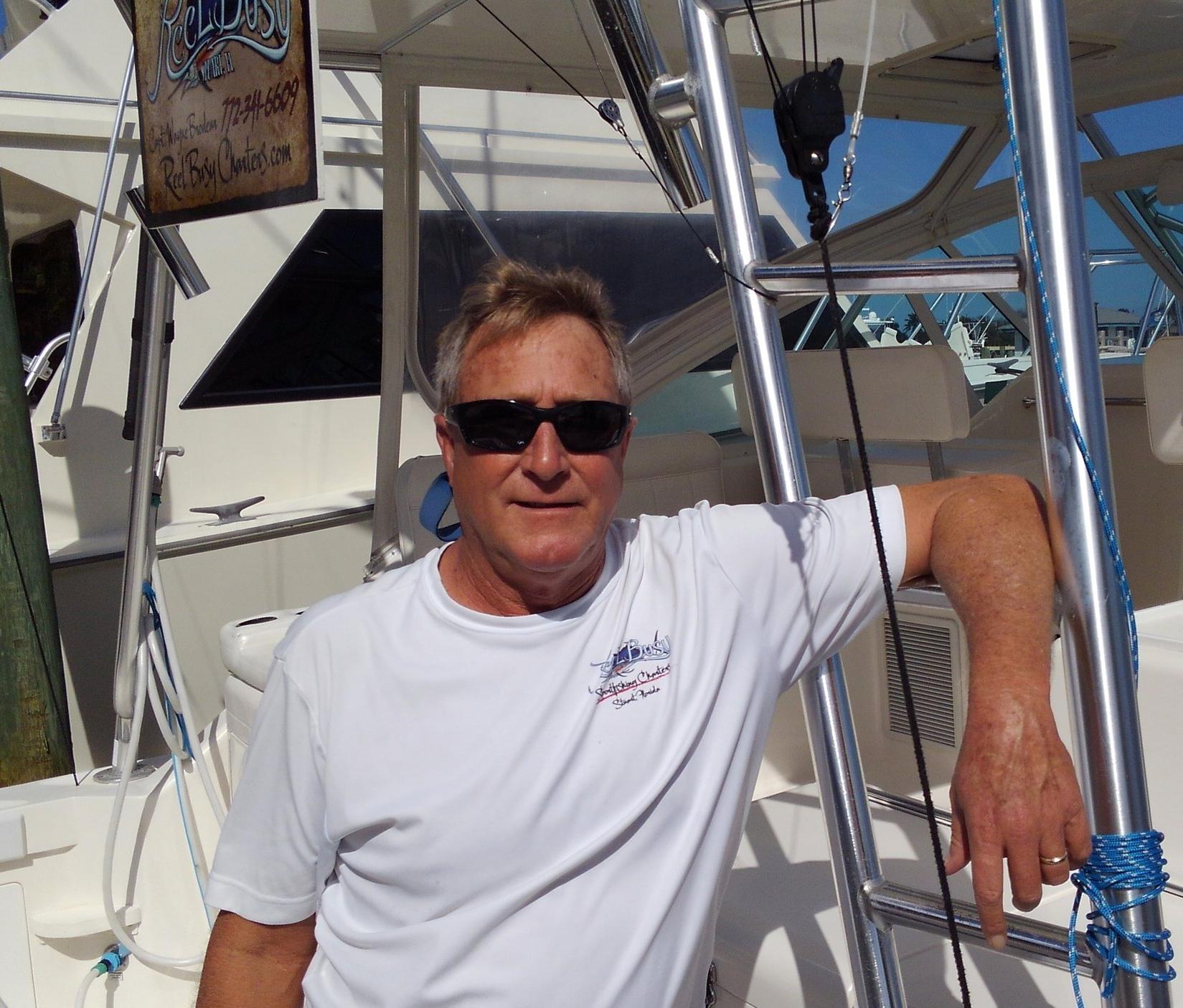 Captain Wayne Brodeur, Reel Busy Charters