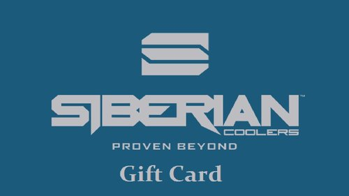 Siberian Coolers Gift Card