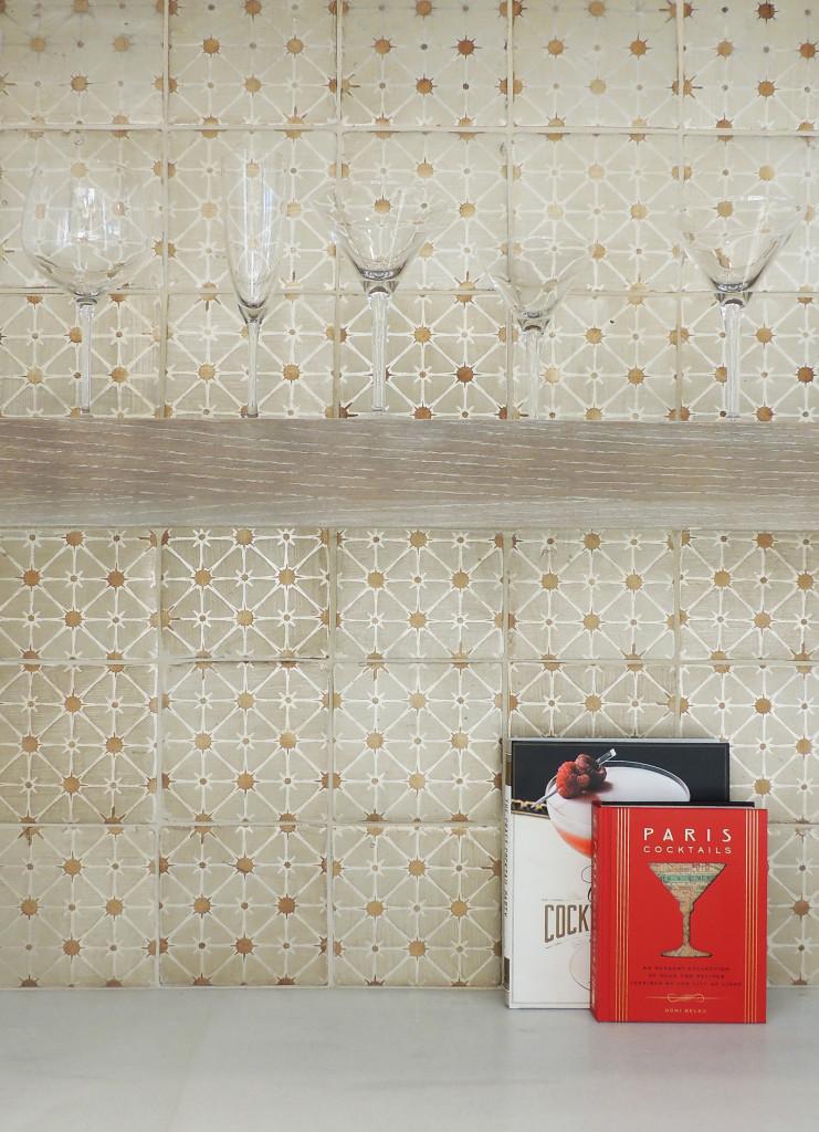 TS - Tabarka Studio - Rude Des Rosiers 3 latte caramelo on silver - Handpainted Tile - Backsplash.jpg