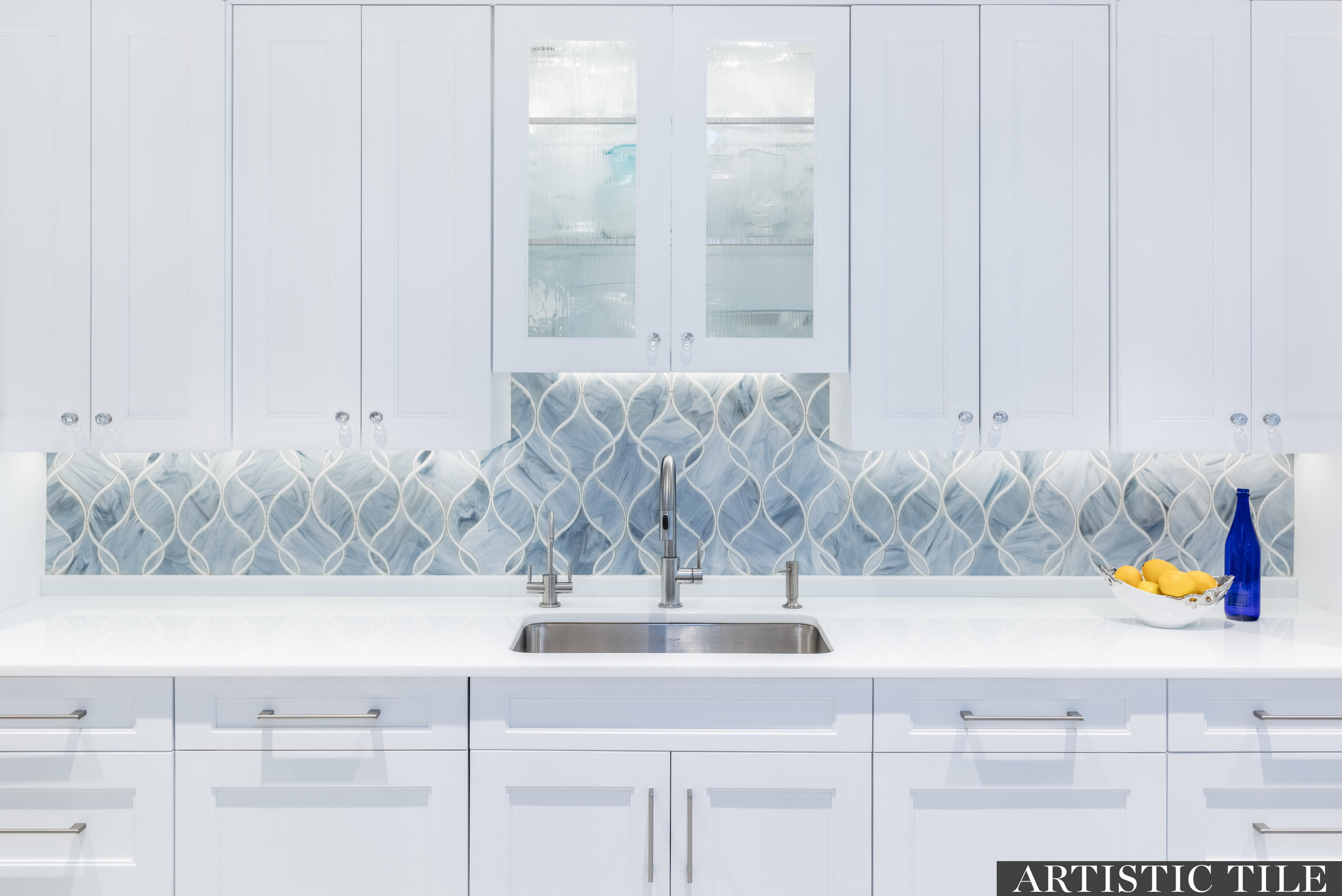 ART - Artistic -Claridges Light Blue Ice White - Waterjet- Backsplash.jpg