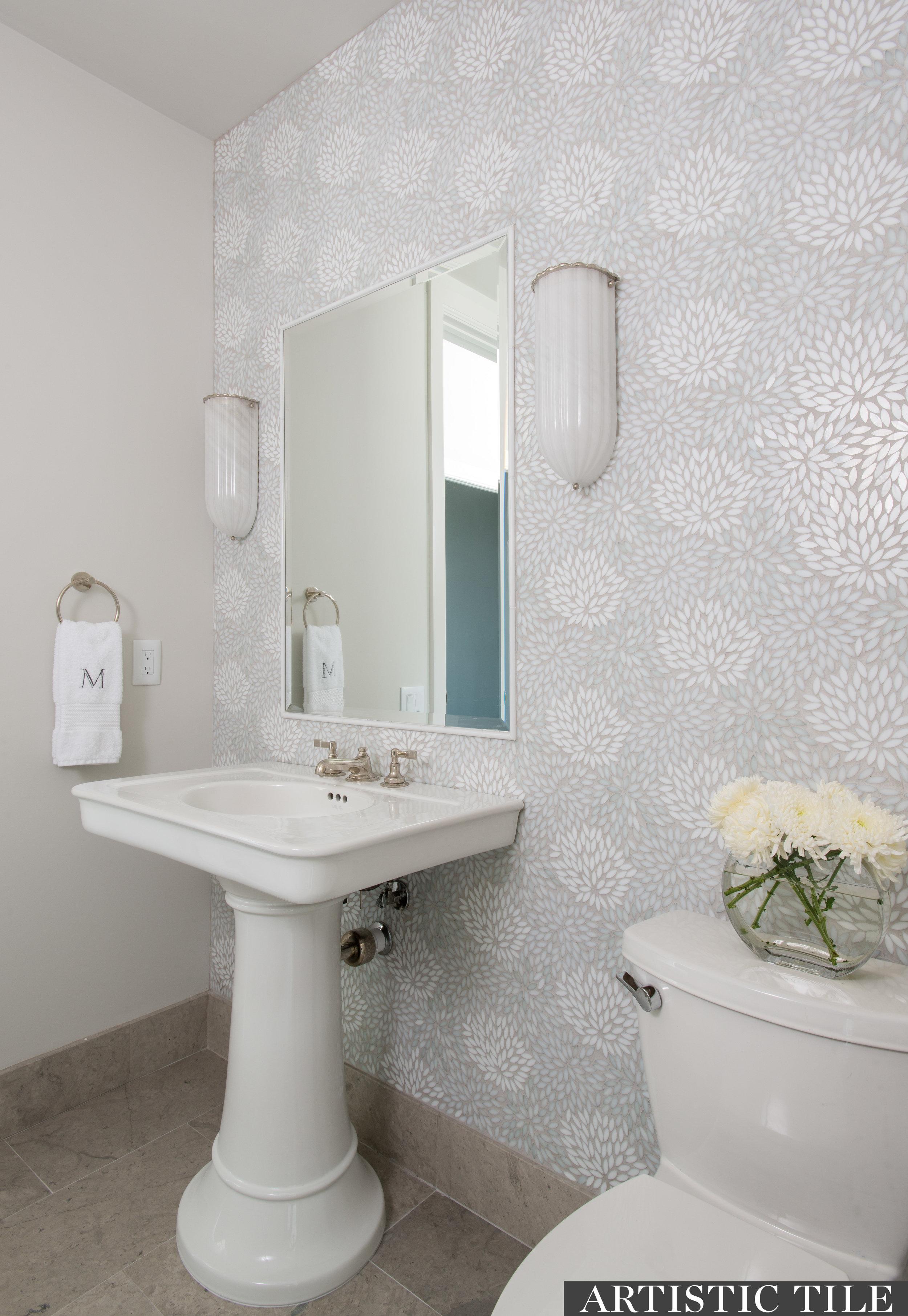 ART - Artistic -Estrella Be Bop White - Mosaic Tile - Bathroom.jpg