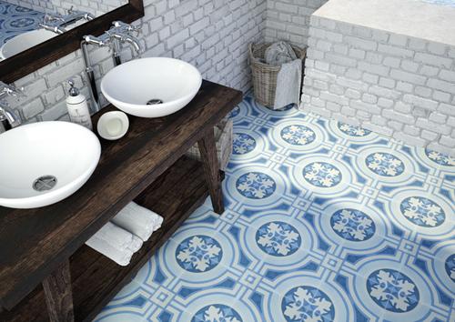 ART- Artistic - Hydraulic Blue - Porcelain - Flooring.jpg