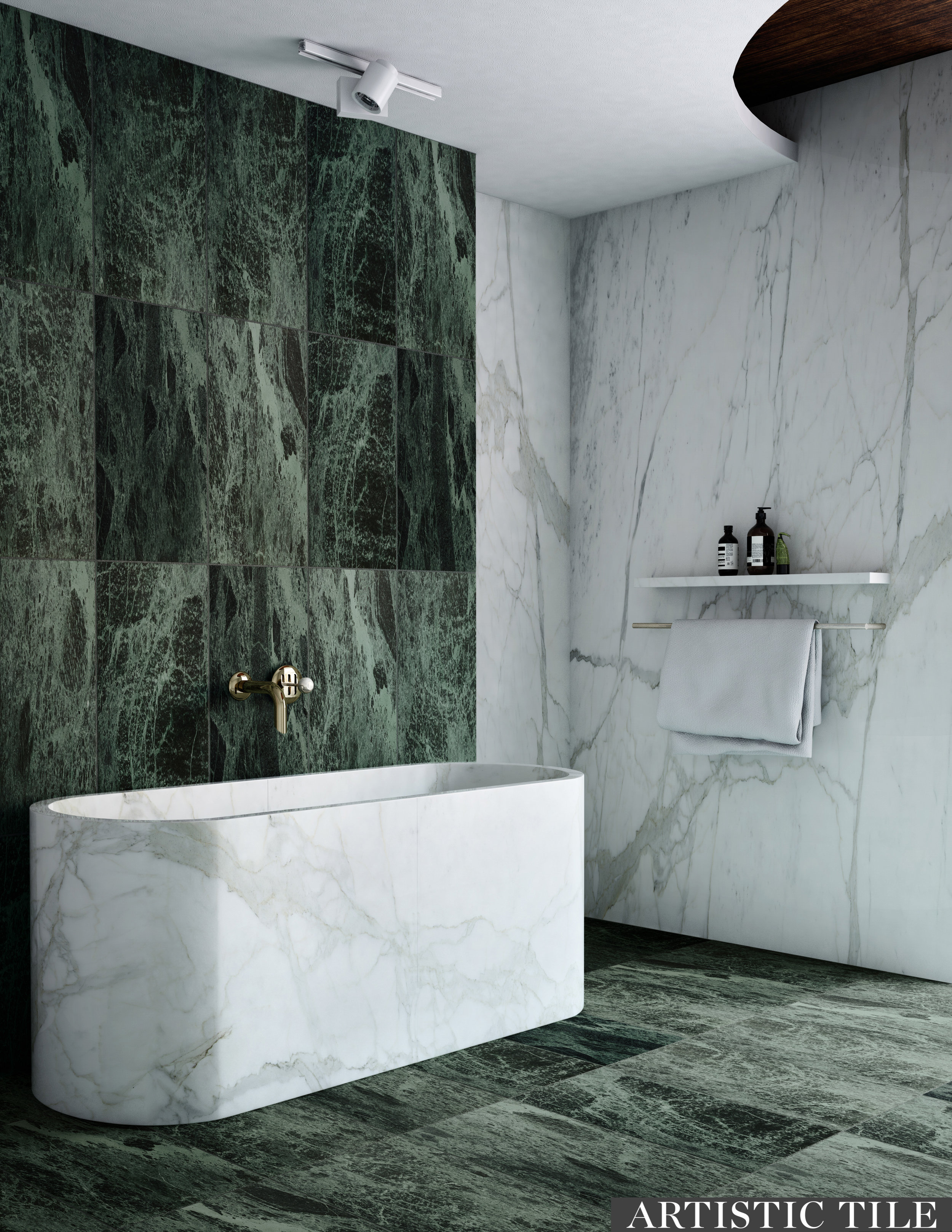 ART - Artistic -Verde Alpi - Natural Stone - Bathroom.jpg