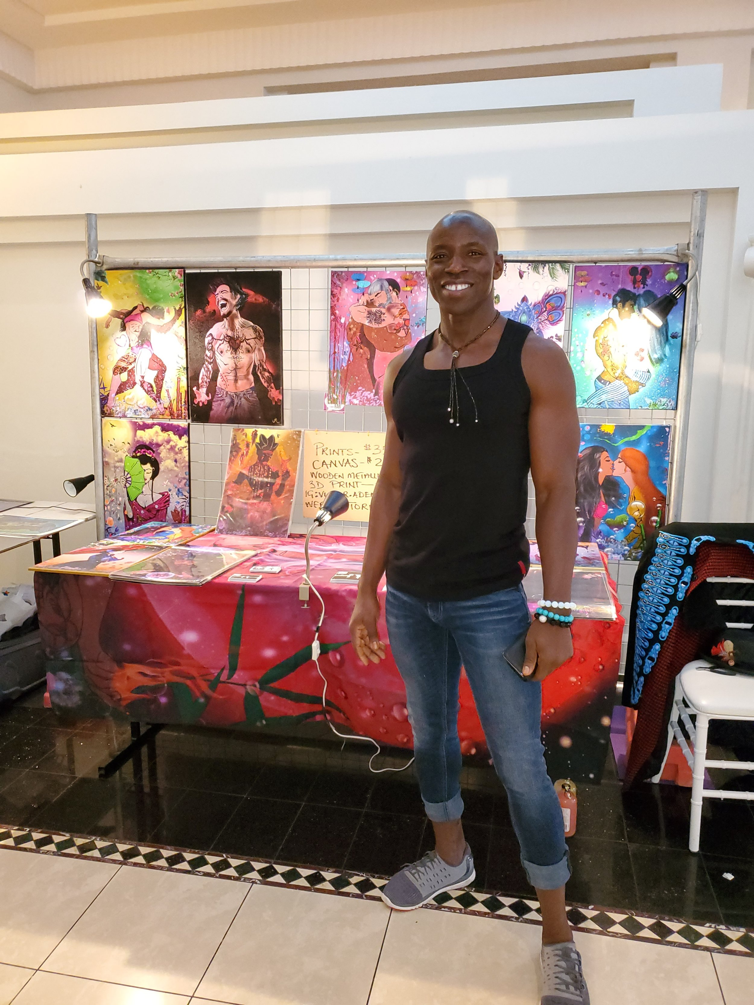 Artist   Victor Adeniran
