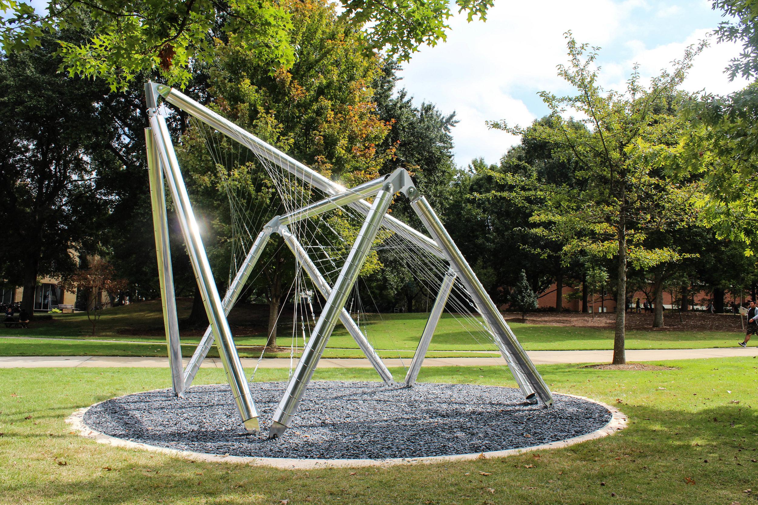 The Veil on GA Tech Campus | Photo by Stephanie Wright