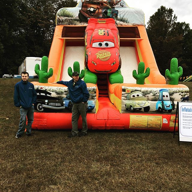 Cool new inflatable at this years Great Pumpkin Patch.  Here 10-4 w/ @renzispizza @sweettoothfunnelcakes & @that.smoothie.place