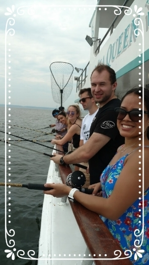 Schieti-Lab taking a break and going fishing!