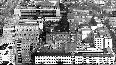 East Berlin Stasi Headquarters Normannenstrasse