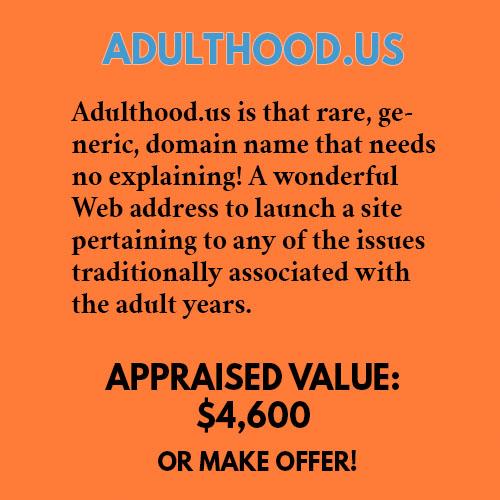 ADULTHOOD.US