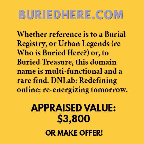 BURIEDHERE.COM