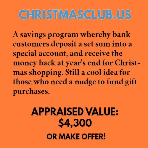 CHRISTMASCLUB.US