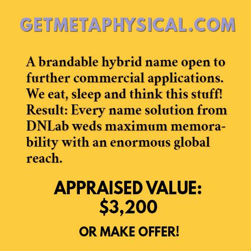 GETMETAPHYSICAL.COM