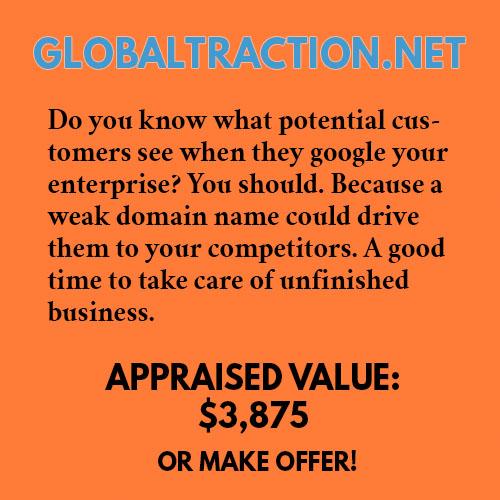 GLOBALTRACTION.NET