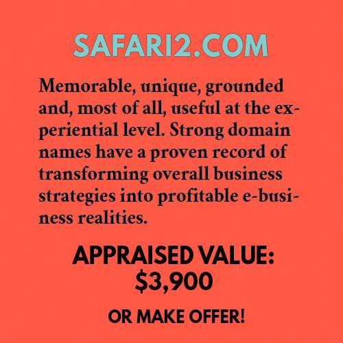 SAFARI2.COM