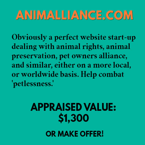 ANIMALLIANCE.COM