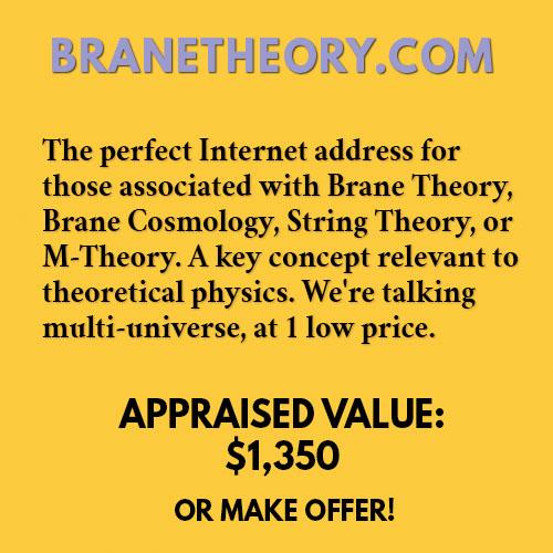 BRANETHEORY.COM