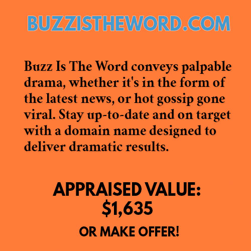 BUZZISTHEWORD.COM