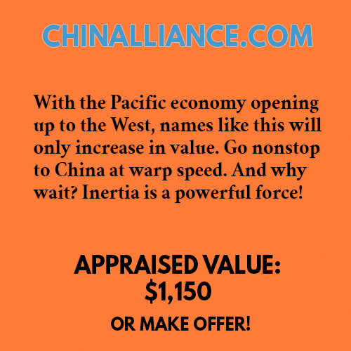 CHINALLIANCE.COM