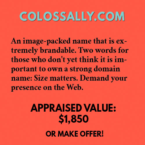 COLOSSALLY.COM