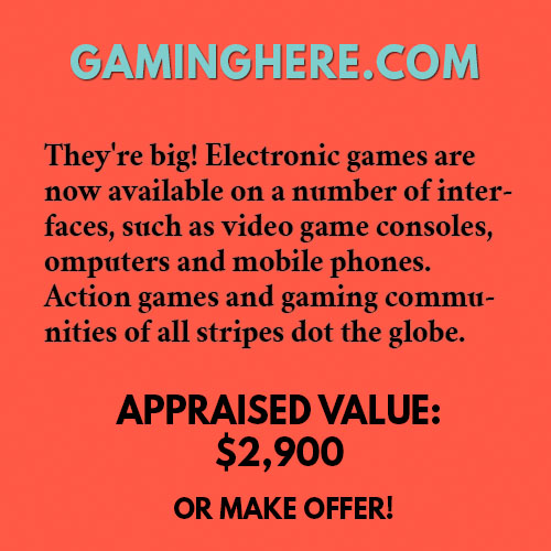 GAMINGHERE.COM