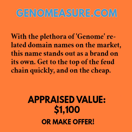 GENOMEASURE.COM